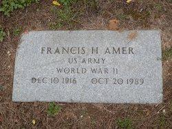 Francis H Amer