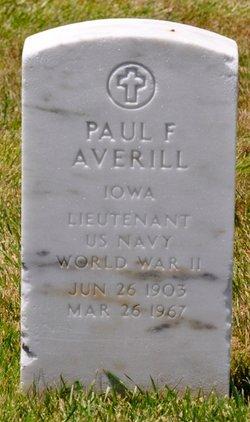 Paul F Averill
