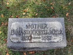 Emma <i>Stockwell</i> Boyer