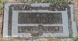Edward Ackerman