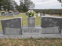 Joe Franklin Fox McGehee