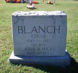 Julia A <i>Hicks</i> Blanch