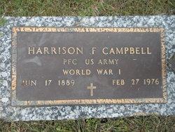 Harrison F Campbell