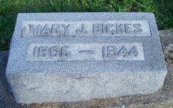 Mary Jane <i>Travis</i> Bickes