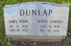 Fannie Isabelle <i>Mcdowell</i> Dunlap
