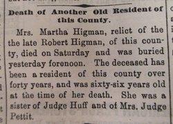 Martha <i>Huff</i> Higman