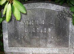 Myrtle L <i>Hice</i> Bussard