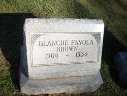 Blanche Fayola <i>Haskins</i> Brown