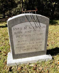 Anna M. Ackerman