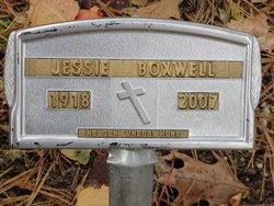 Jessie Elizabeth <i>Isaacs</i> Boxwell
