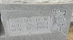Thelma O <i>W</i> Austin