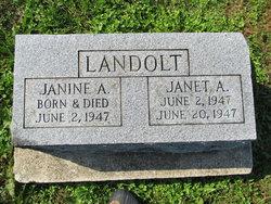 Janine A Landolt