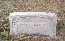 Nancy Mariah <i>Hallman</i> Avery