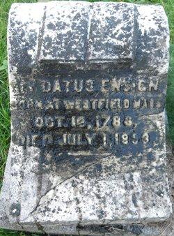 Rev Datus Ensign, Jr