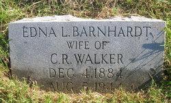 Edna L <i>Barnhardt</i> Walker