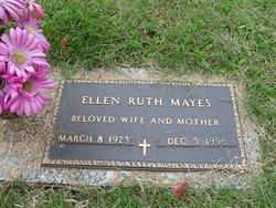 Ellen Ruth <i>Shackelford</i> Mayes