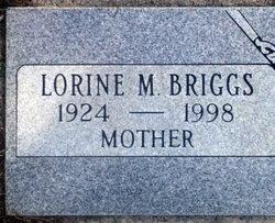 Lorine M <i>Lobb</i> Briggs