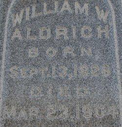 William Weber Aldrich