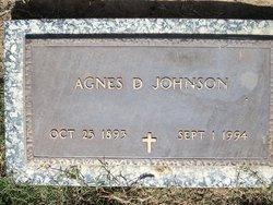 Agnes D. Johnson