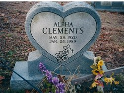 Alpha <i>Tincher</i> Clements