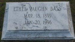 Ethel <i>Vaughn</i> Bass