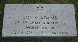 Joe K. Adams