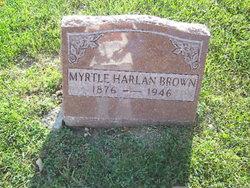 Myrtle <i>Harlan</i> Brown