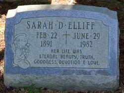 Sarah D Elliff