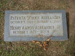 Patricia <i>Schoen</i> Alexander
