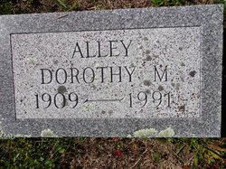 Dorothy May <i>Alley</i> Alley