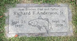 Richard F Anderson, Jr