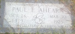 Paul E. Ahearn