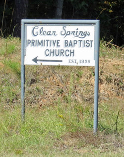 Clear Springs Primitive Baptist Church Cemetery