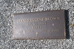 Rev Gerald E. Brown