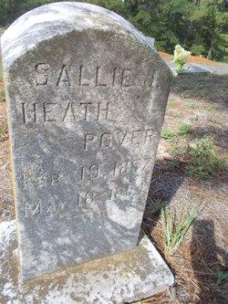 Sallie J <i>Heath</i> Pover