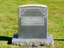 Corp James Adolph Blair