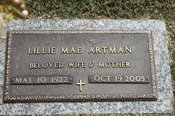 Lillie Mae <i>Bishop</i> Artman