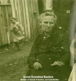Harriet Rebecca <i>Bennington</i> Backes