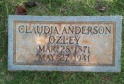 Claudia Lee <i>Anderson</i> Ozley