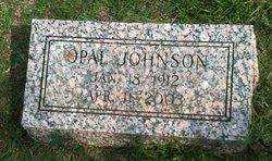 Opal <i>Johnson</i> Burnham