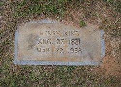 Henry Newton King
