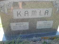 Bertha Susanna <i>Beckel</i> Kamla