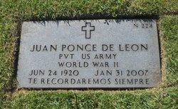 Juan Ponce De Le�n Mart�nez
