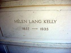 Helen <i>Lang</i> Kelly