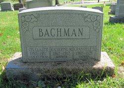 Claude Carroll Bachman