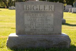 Sarah Jane <i>Clay</i> Bigler