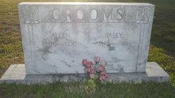 Sally M <i>Sessoms</i> Grooms