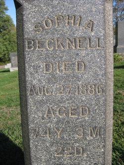 Sophia Becknell