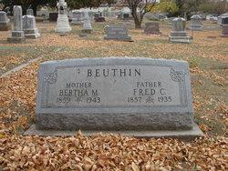 Frederick C Beuthin, Sr