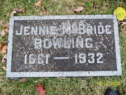 Jennie <i>McBride</i> Bowling